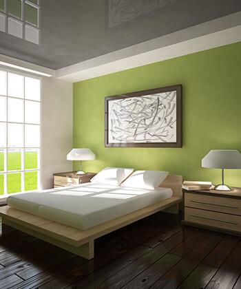 In your bedroom